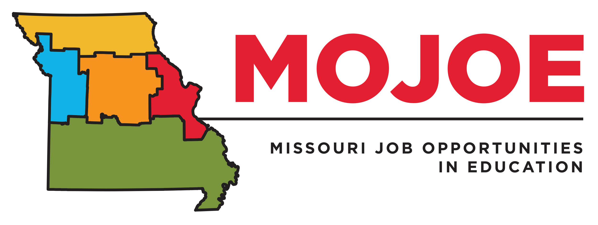 MOJOE Missouri Job Opportunities in Education Logo