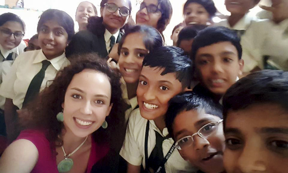 Teach Abroad India, Emilee Madlinger, 2017