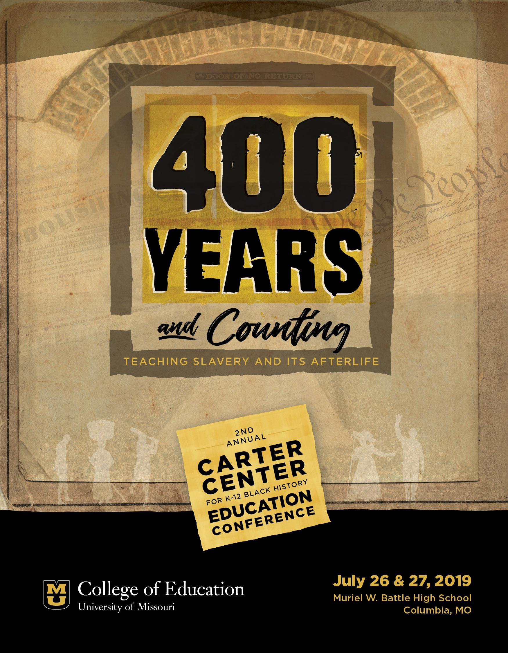 400 Years & Counting: Teaching Slavery and Its Afterlife 2nd Annual CARTER Center for K-12 Black History Education Conference, LaGarrett King, Associate Professor, University of Missouri College of Education, Department of Learning, Teaching & Curriculum