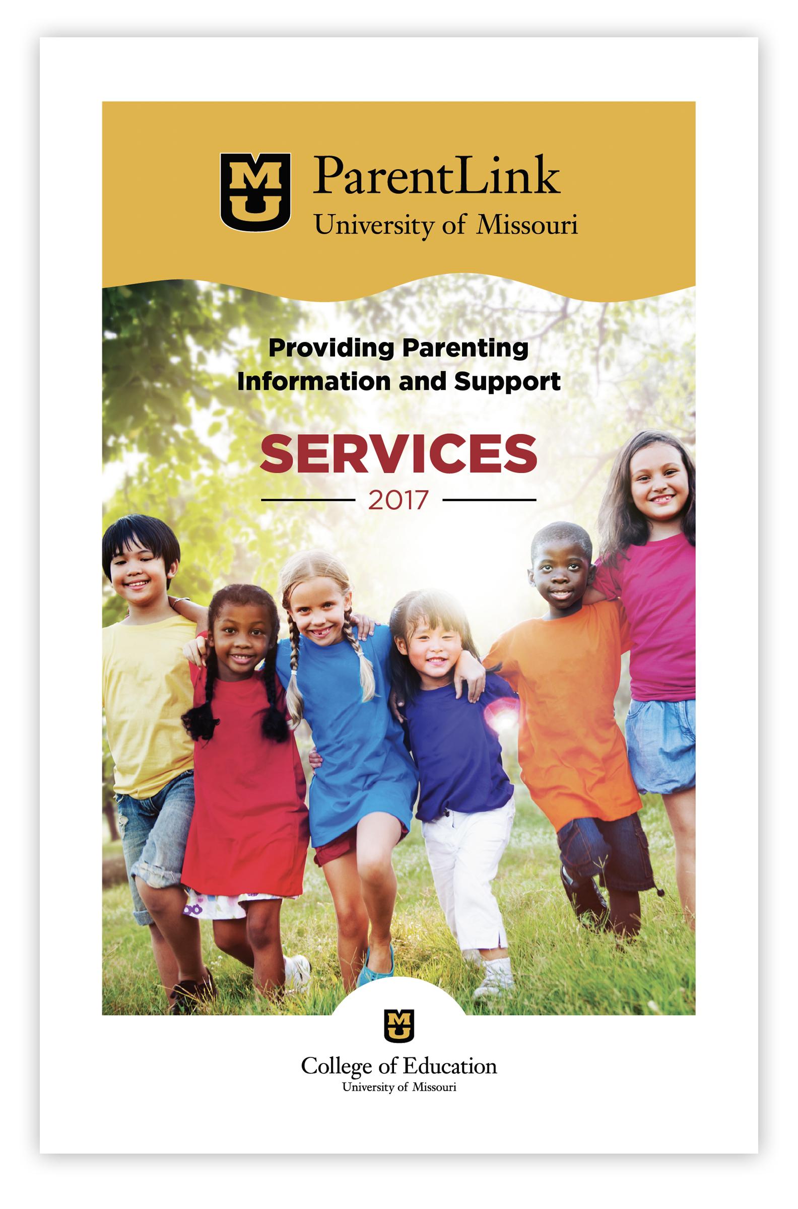 ParentLink Services Booklet Cover 2017