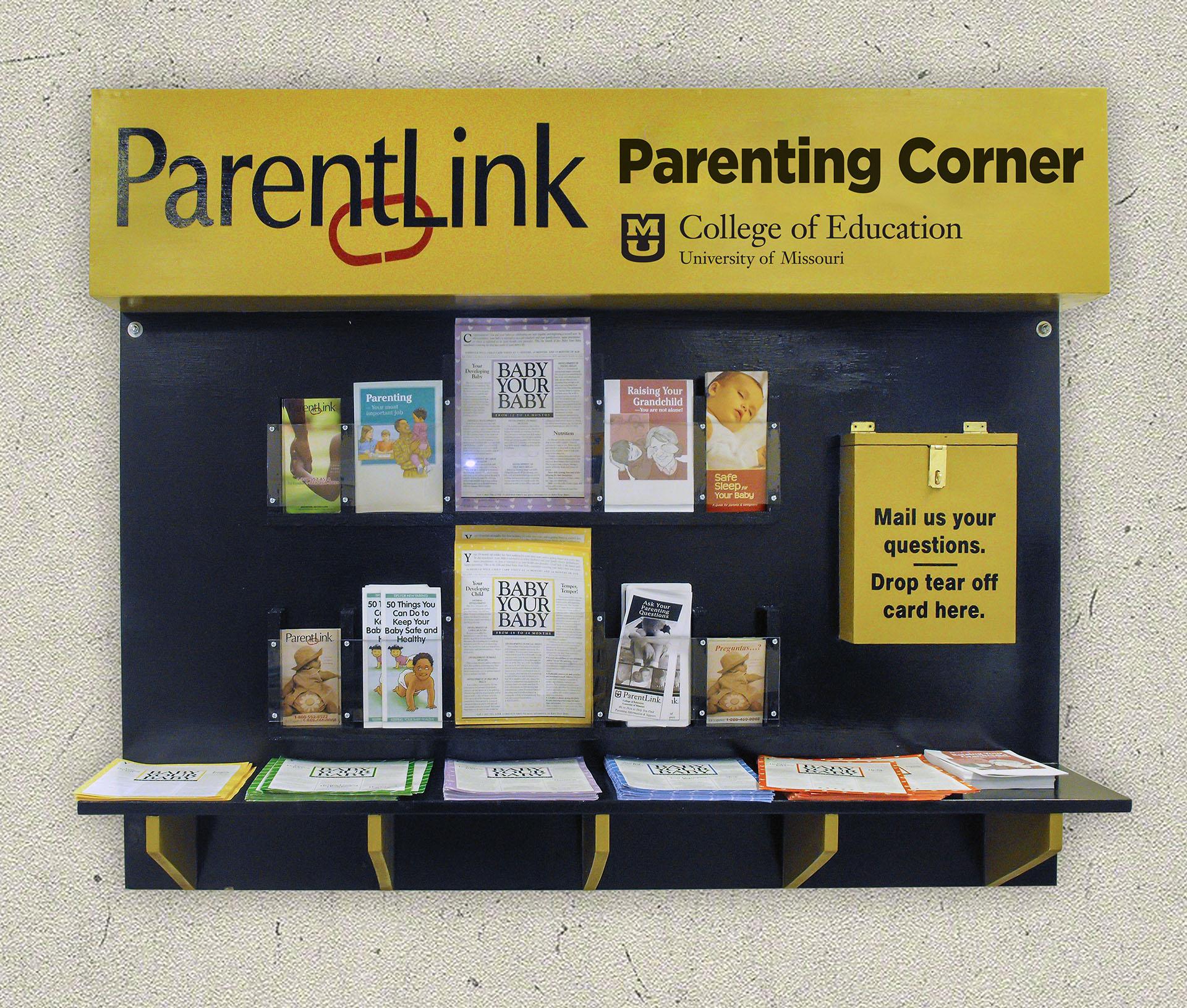 ParentLink Parenting Corners, Services for Incarcerated Parents