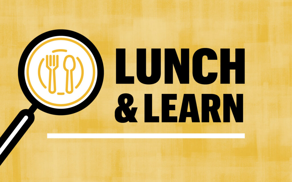 Lunch & Learn Graphic
