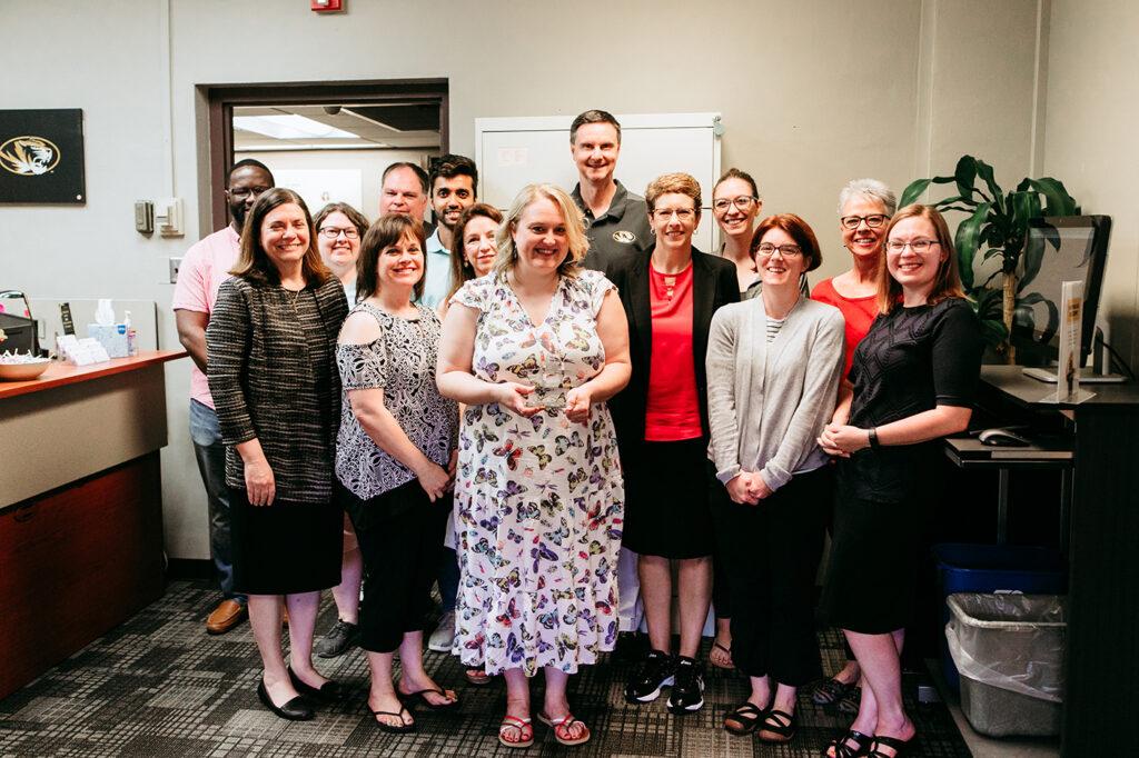 May 2019 Porter Graham Staff Excellence Award Winner Tristan Halper, University of Missouri College of Education