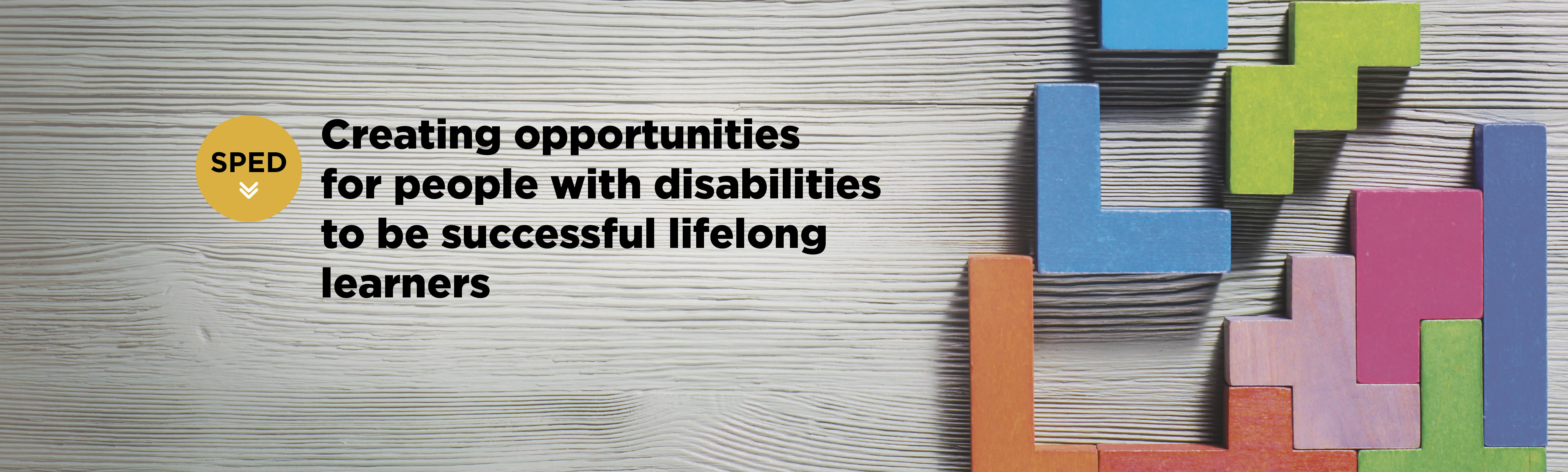 Department of special education creating opportunities for we strive to prepare educators to assist children youth and adults with disabilities to be academically and socially successful lifelong learners xflitez Images