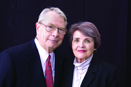 Harold and Joanne Hook, 2004.