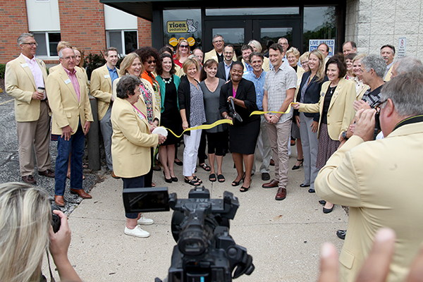 The Columbia Chamber of Commerce hosted a ribbon cutting for FACE on Aug. 15.