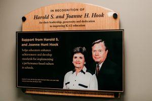 Harold Hook plaque