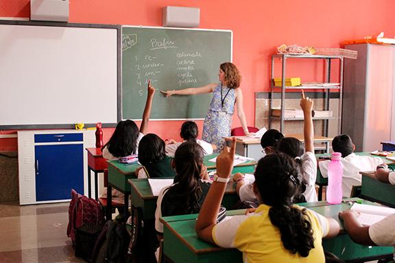 Teach Abroad, India, 2015.
