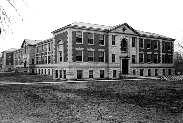 Townsend Hall, 1937