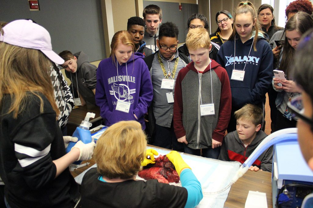 Heart of Missouri Regional Professional Development Center (RPDC) hosted a nontraditional career day, University of Missouri College of Education