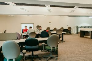 The Reflector, located in Townsend Hall, University of Missouri, College of Education, work space, library, equipment checkout, computer lab, printers and scanner available for use, LAPS