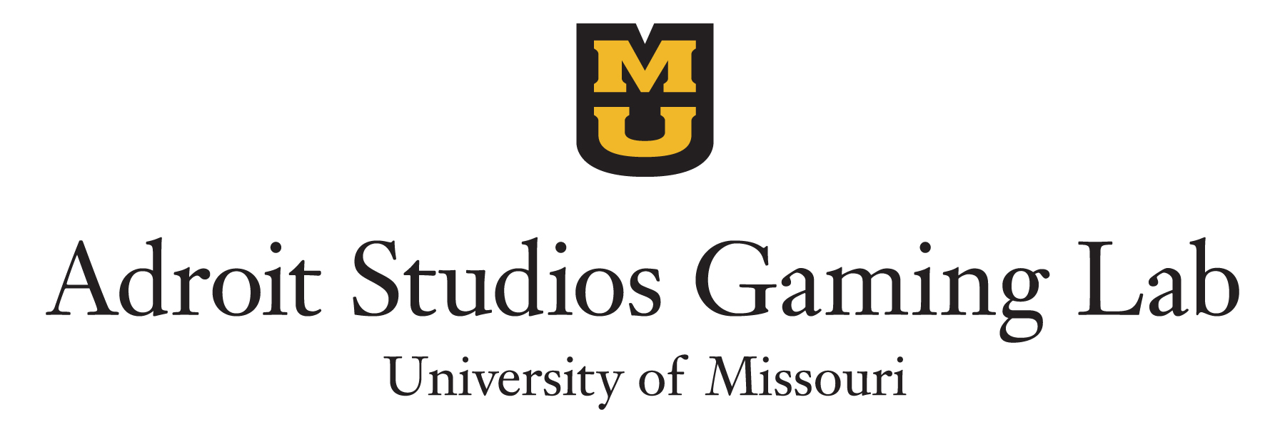 Adroit Studios Gaming Lab logo, School of Information Science & Learning Technologies, University of Missouri College of Education