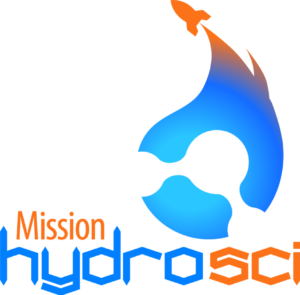 Mission HydroSci logo, Adroit Studios Gaming Lab logo, School of Information Science & Learning Technologies, University of Missouri College of Education