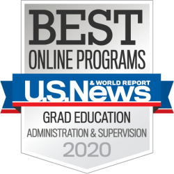 U.S. News & World Report, Best Online Programs, Grad Education Administration & Supervision 2020, University of Missouri College of Education, Best Graduate Degree Programs