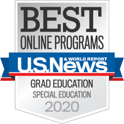 U.S. News & World Report, Best Online Programs, Grad Education Special Education 2020, University of Missouri College of Education, Best Graduate Degree Programs