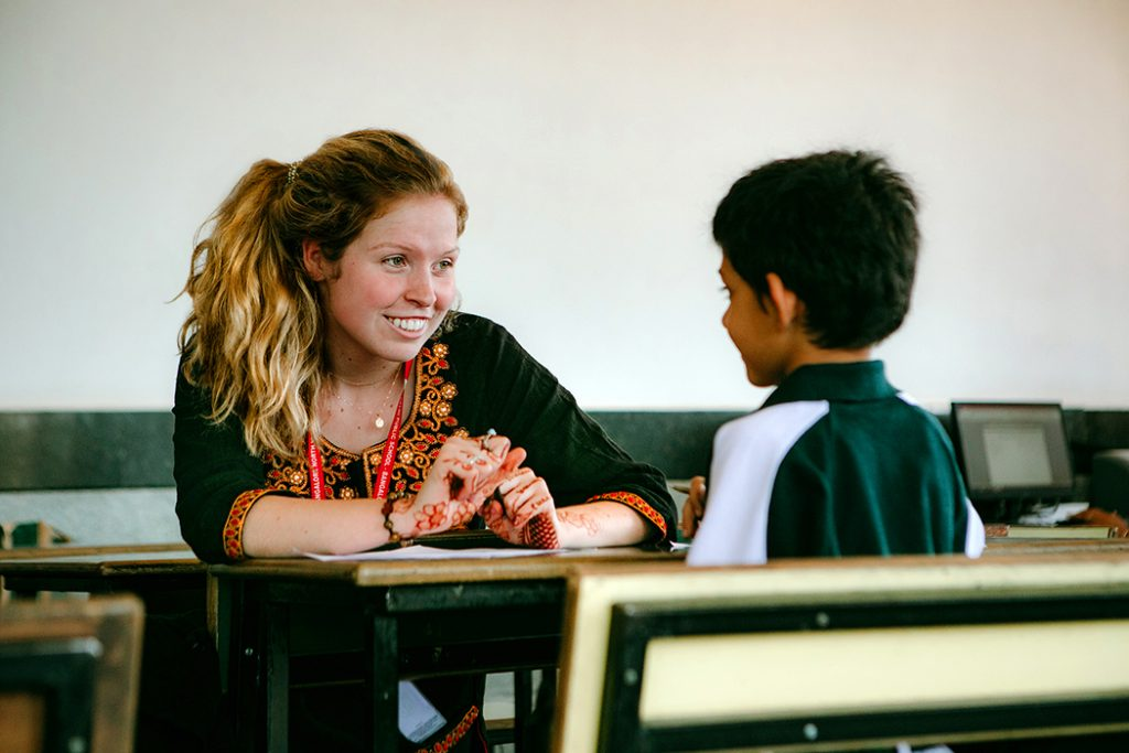 Kelley Fowler, BS Ed Special Education, University of Missouri College of Education, Teach Abroad in India Program