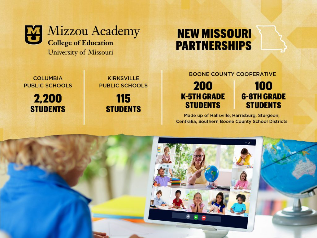 Mizzou Academy New Missouri Partnerships graphic