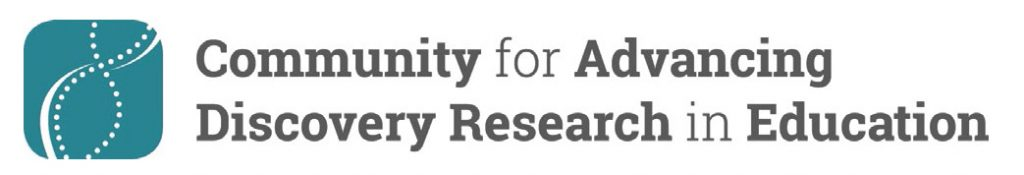 CADRE Logo, Community for Advancing Discovery Research in Education