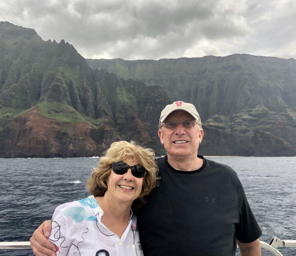 Kathy Banks and her husband Dennis