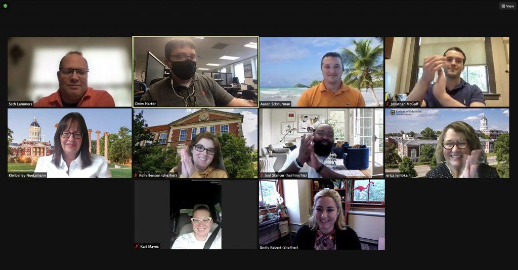 Drew Harter Porter Graham Staff Excellence Award screenshot