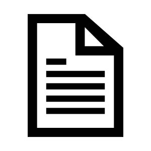 note with. folded corner icon