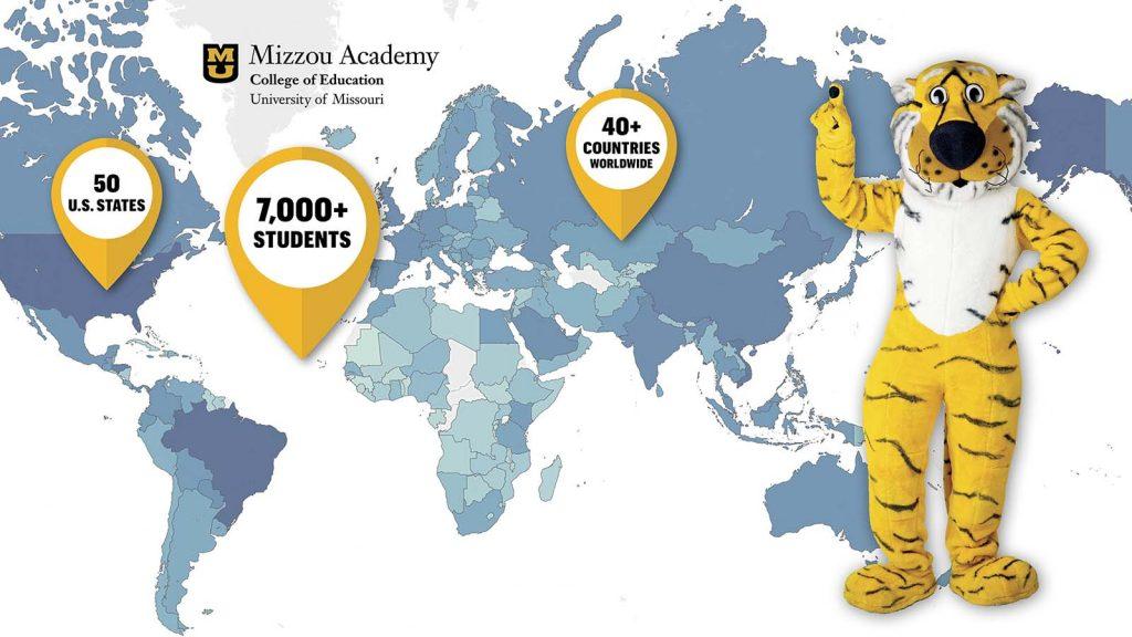 Mizzou Academy Global Impact Map